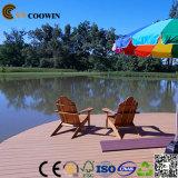 방수 목제 곡물 Eco-Friendly WPC 옥외 Decking