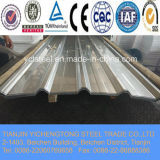 Feuille d'acier carton ondulé en zinc et en aluminium