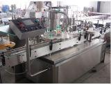Vidrio automático/máquina plástica del embotellado y del lacre del tornillo