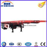 40FT 수송 콘테이너 Cimc 평상형 트레일러 콘테이너 트레일러