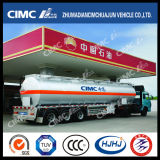 Nuevo 20-60cbm 3axle Aluminium Alloy Fuel/Petrol/Gasoline/Oil/LPG Tanker