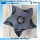 Turbine de pompe de bâti personnalisée par précision de l'acier inoxydable CD4/316ss d'investissement