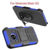 Motorola Moto G5를 위한 권총휴대 주머니 벨트 클립 전화 상자