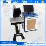 Máquina de la marca del laser del CO2 para la madera plástica