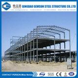 Taller de la subida del marco de la estructura de acero alto