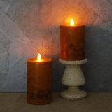 [لد] شمعة عديم لهب, برتقال ريحيّة