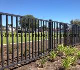 Cerco de segurança em aço / esgrima de jardim com revestimento em pó