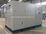 Compresor de aire inmóvil refrescado aire de los tornillos dobles