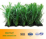 Отсутствие лужайки травы песка & резины Infill искусственной, без песка & резиновый синтетической дерновины, поддельный трава для футбола, футбола, спортов