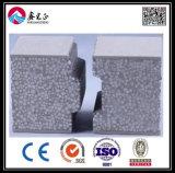Painel de sanduíche do cimento do EPS para casa/casa de campo pré-fabricadas