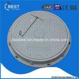 A15 En124 SMCは500*30mm FRP GRP SMCのマンホールカバーを四捨五入する