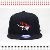 Шлемы Snapback черной вышивки дьявола 3D изготовленный на заказ