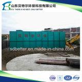 planta residencial do tratamento da água da água de esgoto 100tons/Day, tipo de Undergound