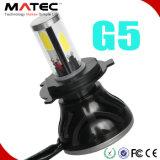 広州の工場LEDヘッドライトの穂軸LEDのヘッドライトH4 H7 H11 9004 9005 9006 9007