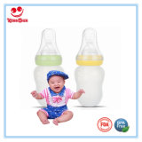 Широкая бутылка младенца выжимкы шеи для младенцев с ложкой