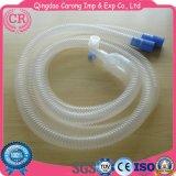 使い捨て可能な麻酔呼吸回路の波形の管