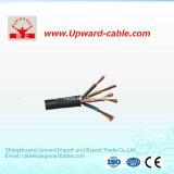 Câble électrique de gaine en caoutchouc de 2 faisceaux