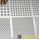 Längliches Loch-perforiertes Metall mit galvanisiertem Blatt