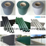 100%UV 저항 다채로운 630g 19cm*35m PVC 지구 스크린 정원 담