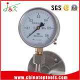 Medidor de pressão do manômetro Diaphragm-Seal com aço inoxidável