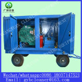Sistema de chorro de agua para la limpieza de tubos del intercambiador de calor