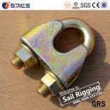 Rigigng galvanizado alambre de fundición maleable cuerda abrazadera