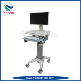 Ajuste de Altura Hospital Laptop Cart