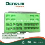 ISO ortodóntica del Ce del corchete FDA de Roth de la suposición del corchete de la base del acoplamiento del corchete de Denrum