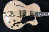 Kit de guitare de bricolage / L5 pleine Hollow-Body F-Trou Jazz personnalisé guitare électrique (gj-18)