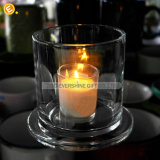 Houder van de Kaars van het Glas van de Stolp van het Glas van de koepel de Duidelijke