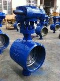 Углеродистая сталь Pn25 DN300 Bi-Direction двухстворчатый клапан