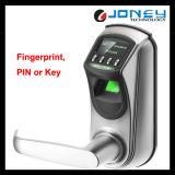 Hotsale fácil de usar bloqueador eléctrico de impressões digitais de liga de zinco com visor OLED