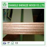 preto de 1220*2440*18mm/madeira compensada Shuttering impermeável película de Brown