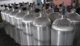 Bombola per gas di alluminio senza giunte per gli usi dello scuba