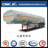 Cimc Huajun 32cbm Koolstofstaal 3 de Brandstof van de As/Tanker Oil/Gasoline/Diesel