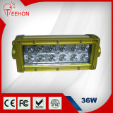 "싸게 7.5 "" Offroad Vehicle를 위한 크리 말 36W LED Light Bar"