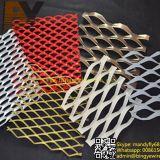 アルミニウムによって拡大される金網かアルミニウム拡大された金属のMesh//Aluminumによって拡大される金属板または拡大された金属の網または斜方形の整形拡大された網または装飾的な網