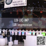 Nieuw ontwerp Luv LED Star Vision-gordijn