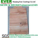 Покрытие порошка текстуры зерна сублимации деревянное