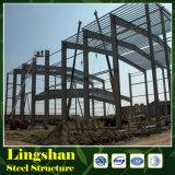 Edificio económico de la estructura de acero con durante 50 años de vida útil