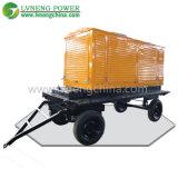 generatore mobile silenzioso del rimorchio 100kVA