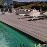 Outdoor를 위한 Inatall 쉬운 나무 Plastic Composite Decking Floor