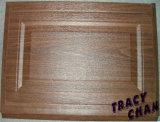 Electronic Wood Grain Sectional Garage Door