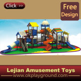 En1176 Great Fun for Kids Outdoor Plastic Playground (12093A)
