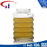 Venta caliente 280ml de alta calidad de cristal tarro de miel (CHJ8154)