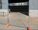 clôture provisoire galvanisée Chaud-Plongée par 2100X2400mm