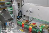 コレクションの回転盤が付いている丸ビン3のラベルのステッカーの分類機械
