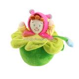 Des jouets de poupée en peluche doux et personnalisés avec musique électrique pour bébés