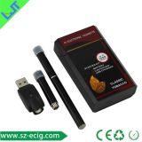 2015 nouveaux cas rechargeable d'emballage PCC E vaporisateur, PCC E-cigarette, 808D PCC Kit de démarrage