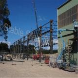 Gruppo di lavoro prefabbricato chiaro della struttura d'acciaio nel Cile